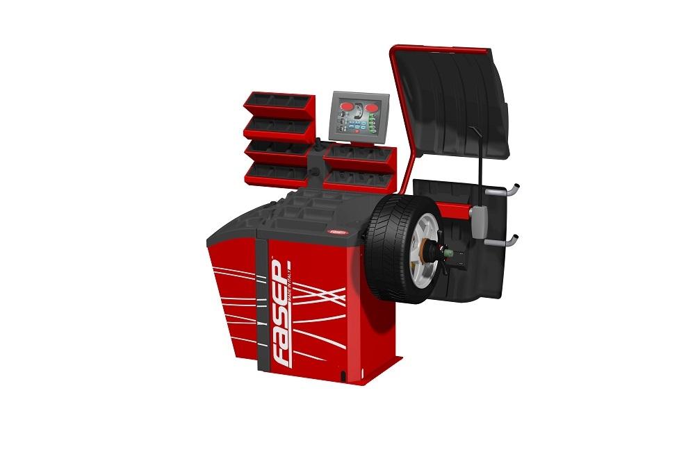 Wheel balancer B432