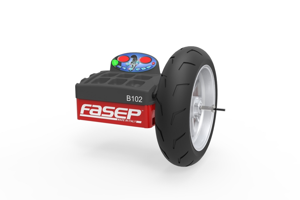 Advantages of FASEP Motorcycle Wheel Balancer